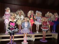 Barbie lot dolls 9 Total 90s