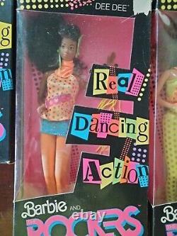 Barbie lot new in box- Barbie and the Rockers Diva Deedee Dana Barbie