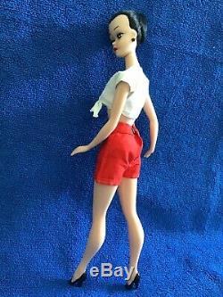 Beautiful! Mint OOAK Vintage Bild Lilli Barbie Clone Hong Kong Brunette +Poodle