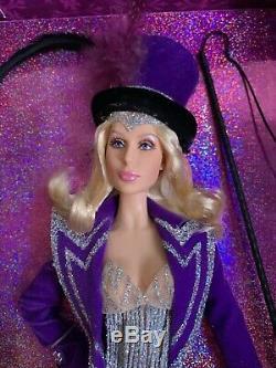 Cher'Ringmaster' Barbie NRFB Platinum Label Bob Mackie. Mint in box