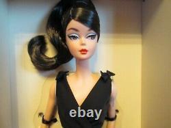 Classic Black Dress Silkstone Barbie-BRUNETTE-DWF53-BFMC-Gold Label-NRFB-MINT