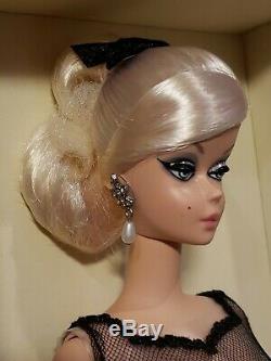 Cocktail Dress Silkstone Barbie Doll 2012 Gold Label Mattel X8253 Mint Nrfb