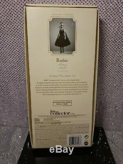 Cocktail Dress Silkstone Barbie Doll Gold Label 2012 Mattel #x8253 Mint Nrfb