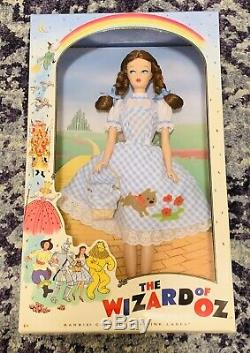 Complete Set Barbie Collector Wizard of Oz Wicked Witch, Dorothy, & Glinda Dolls
