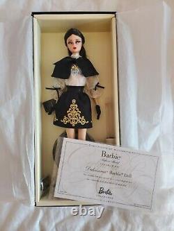 DULCISSIMA SILKSTONE BARBIE DOLL 2013 GOLD LABEL MATTEL BCP82 Mint in Box