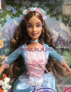 Erika Barbie Doll Anneliese Princess and the Pauper Rare Version Cats Lot 2 EX