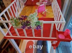 Extremely Rare 1982 Mattel Vintage Barbie Dream Cottage WithFurniture EUC