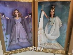 GODDESS OF WISDOM BEAUTY SPRING BARBIE DOLL Classical Greek Lot of 3 NEW IN BOX