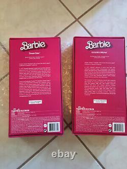 Golden Dream, Dream Date Barbie Doll Lot Mattel Superstar Forever Collection