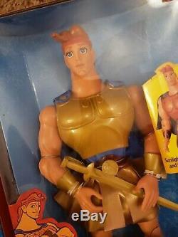 Golden Glow Hercules Doll Fashion Secrets Megara Doll Disney Mattel Lot 2