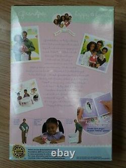 Grandpa Happy Family African American Barbie Doll Grandfather NRFB AA Black