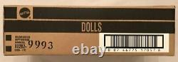HOLIDAY HOSTESS HAPPY NEW YEAR BARBIE GOLD X8282 NRFB WithSHIPPER LE 3,100