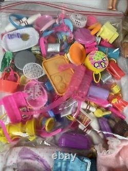 HUGE 60s-90s Barbie dolls lot with clothes great preowned condition Must See! Look