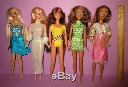 HUGE Mattel Barbie Fashion Fever My Scene Mackie Holiday Princess Fairy Doll Lot