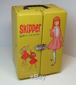 HUGE Vintage Barbie lot SKIPPER SCOOTER RICKY with case, MANY clothes