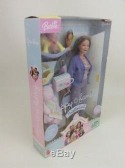 Happy Family Grandpa Grandma Barbie Lot Grandparents Sealed Retired Mattel 2003