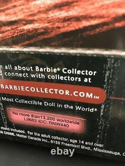Hard Rock Cafe Punk Goth Barbie#6 In The Seriesnrf Mint Boxcollectable Pin