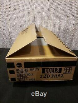 Haunted Beauty Vampire Barbie Doll Gold Label Mattel X8280 Mint In Tissue