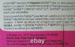 Hispanic Hispanica Barbie #1292 Year 1979 NRFB