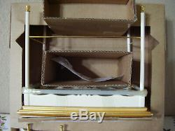 Htf Silkstone Vanity & Bench Set For Barbie Doll 2004 Mint Nrfb