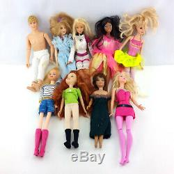 Huge Barbie Doll Collection Vintage Lot Toys Clothes Accessories Mattel Disney