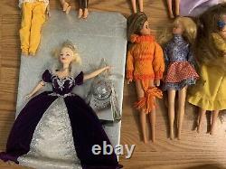 Huge Barbie Doll Lot Dolls 80s 90s Vintage