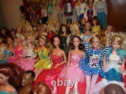 Huge Lot! 50 Barbie And Ken Dolls 1970's-modern Dressed Boy And Girl Dolls