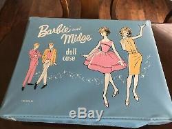 Huge Vintage Barbie ken Midge collection Dolls Case 1963 clothes Lot Sale