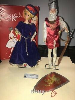 Huge Vintage Lot 1960s Barbie & Ken Dolls, Case, Clothes From Japan A must See