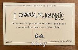 I Dream Of Jeannie Barbie Collector Pink Label 2010 Mattel #V0440 NRFB