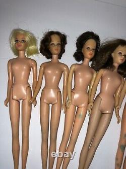 Instant FRANCIE Collection! Vintage 1960s Barbie FamIly MOD Lot Francie Casey