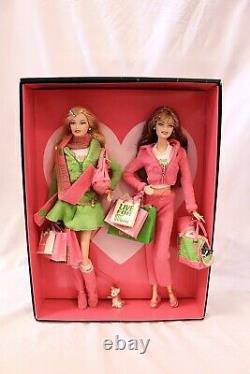 Juicy Couture Love P&G Barbie 2 Doll Set Gold Label Mattel 2004 NRFB