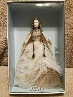 Lady Of White Woods, 2nd Barbie Doll Faraway Collection 2015 Mattel, Nrfb, Mint