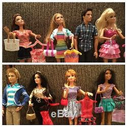 Life in the Dream House BarbieSummerKenRaquelleTeresaNikkiMidge&Ryan Lot