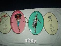 Lot 7 Barbie Treasures Of Africa Byron Lars Moja, Tatu, NNE, Mbili, Tanu, Sugar Coco