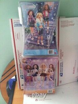 Lot Barbie My Scene Let's Go Disco & Un-FUR-GETTABLE 2 Kennedy, 1 Chelsea MINT