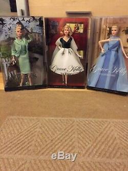 Lot Of 3 Alfred Hitchcock Barbies, The Birds, Rear Window, To Catch A Thief NRFB