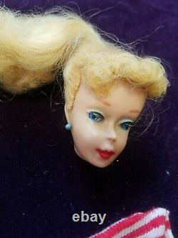 Lot Of Vintage Barbies, Clothes, Head