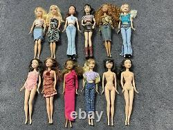 Lot of 12 My Scene Dolls Mattel