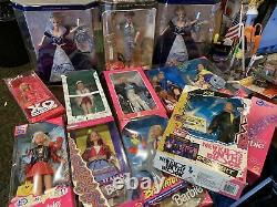 Lot of 13x dolls all new in box mostly barbie mattel lucy more