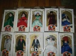 Lot of 14 Gone With Wind World Doll Scarlett-Rhett -Ashley-MissPittyPatMrsOHare
