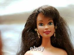 Lot of 3 Barbie Midge Teresa Jewel Hair Mermaid outfit earrings crown stars