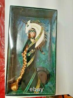 Magnificent Lady Of The Unicorns Bob Mackie Gold Label 1990 Doll In Mint