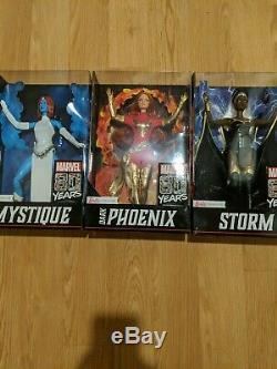 Marvel X-Men Mattel Barbie Signature Storm, Dark Phoenix, Mystique SDCC Figure