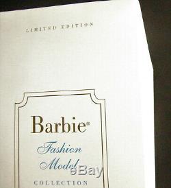 Mattel 2000 Bfmc Silkstone Barbie Lingerie # 3 Jet Black Hair Mint In Box Nrfb