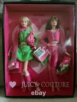 Mattel 2004 Juicy Couture Barbie Collector Gold Label With Accessories