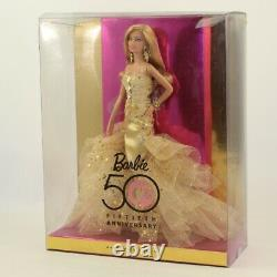 Mattel Barbie Doll 2008 50th Anniversary Barbie NON-MINT BOX