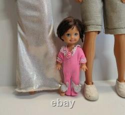 Mattel Barbie Happy Family Grandma Alan & Ryan Dolls Lot HTF Great Condition