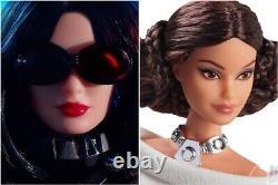 Mattel Barbie Star Wars Collectors Dolls Leia & Darth Vader New in Shipper MINT