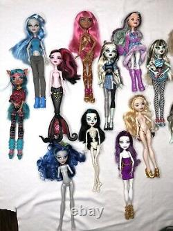 Monster High Doll & Ever After High Doll Lot